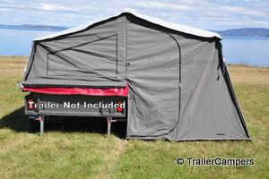 Main Tent with Windows Closed