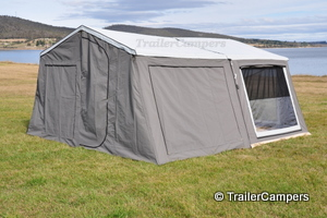 Main Tent With Annex - Windows Closed