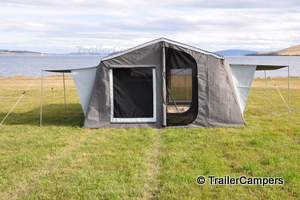 Main Tent & Annex with Window Awnings