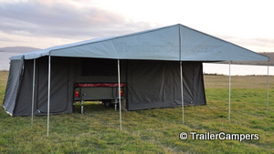 Main Tent With Main Tent With Awning