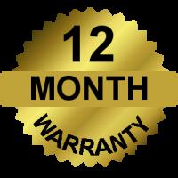 12 Month Warrantee
