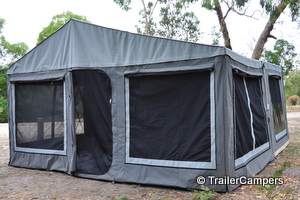 Tent with Annex
