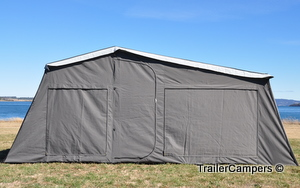 Full Tent with Annex - Windows Closed
