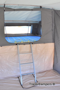 Inside Main Tent - Bed
