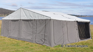 Main Tent With Canvas Annex